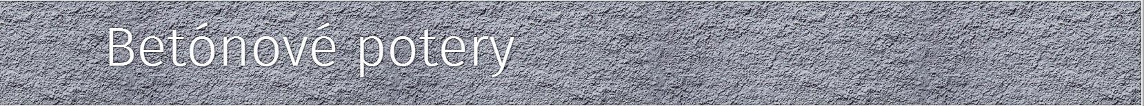 betonove potery